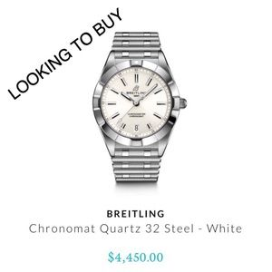 BREITLING   DO NOT PURCHASE - PLS @ ME IF SELLING